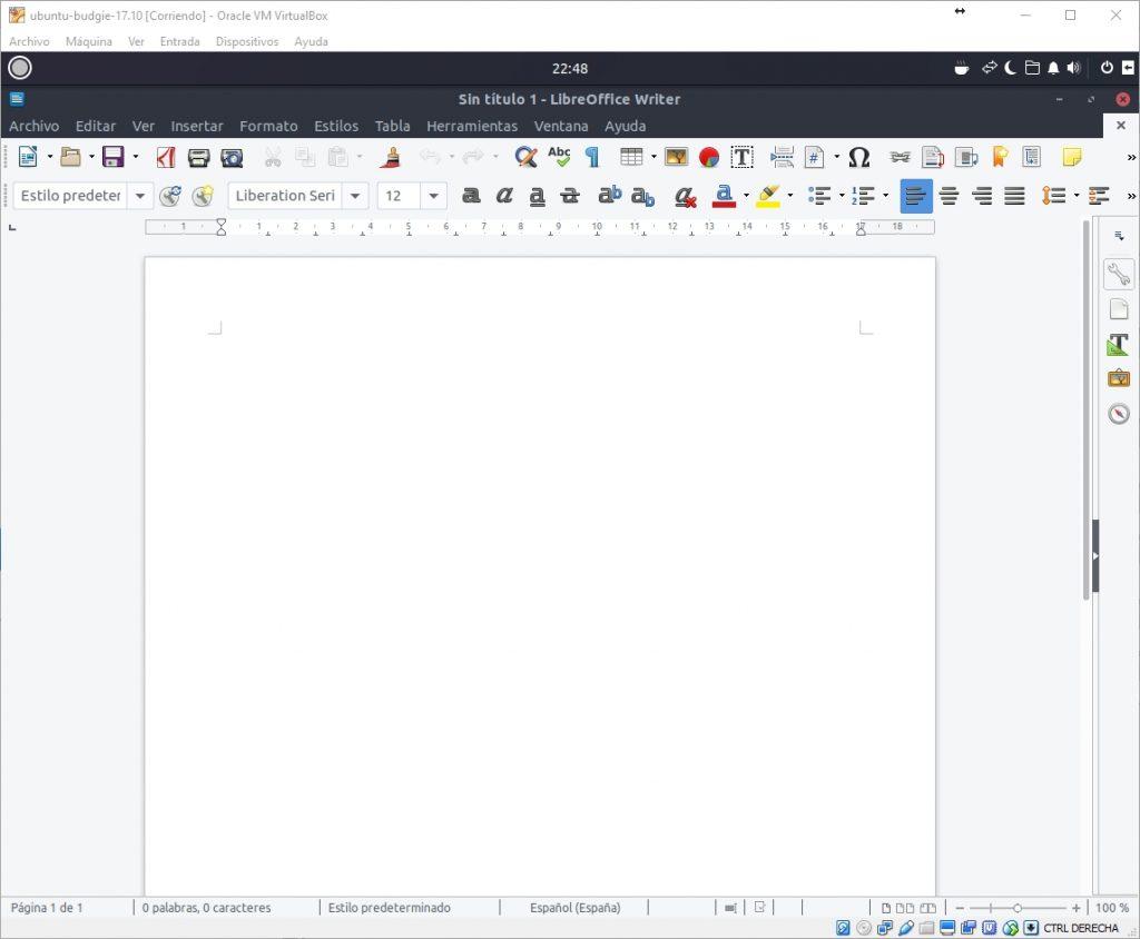 Ubuntu Budgie versión 17.10